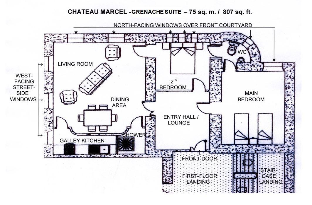 Grenache apartment