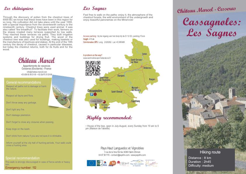 Cassagnoles: Les Sagnes