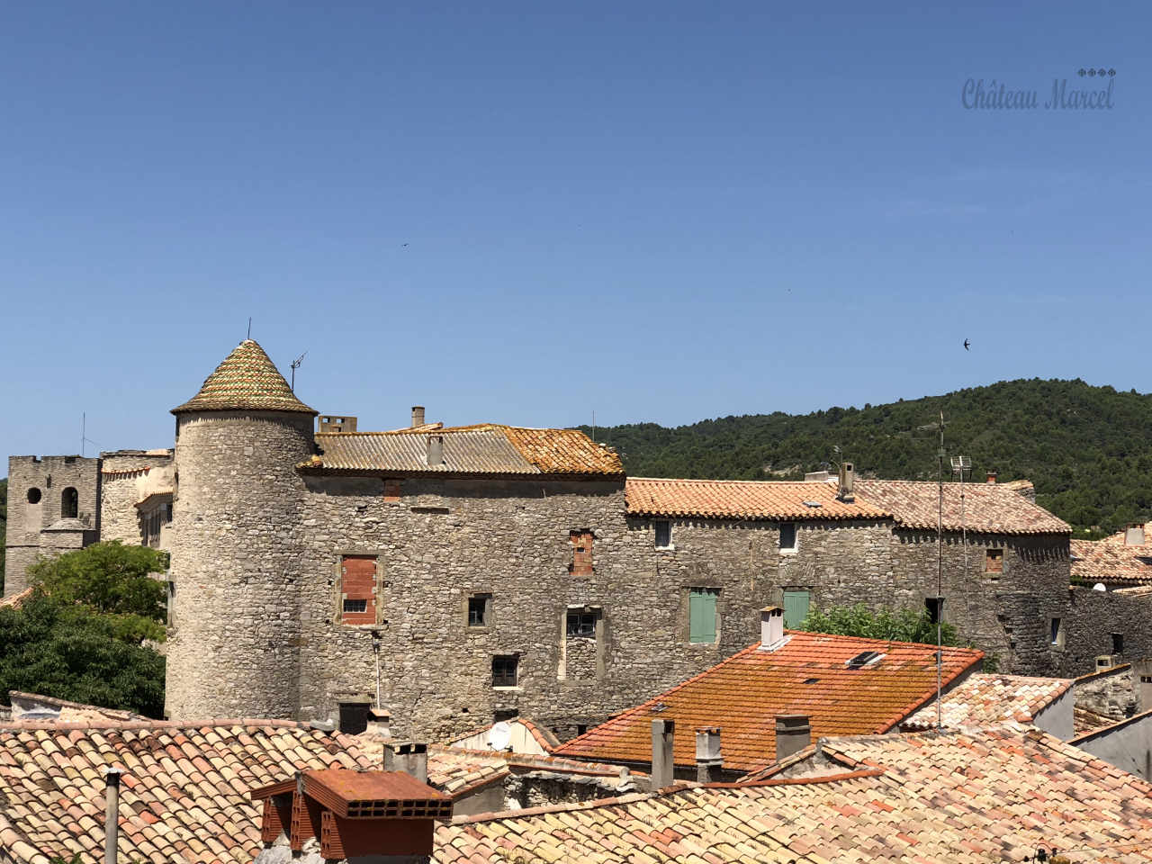 The castle of Cesseras