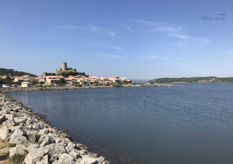 Plage Des Chalets A Gruissan gruissan-plage – gruissan – chateau marcel